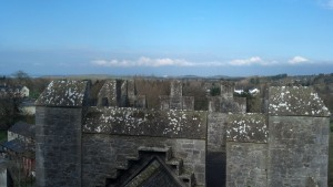View from Bunratty Castle