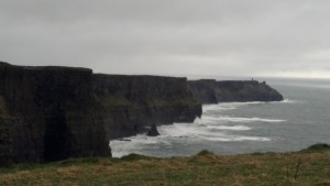 Cliffs of Moher, not misty