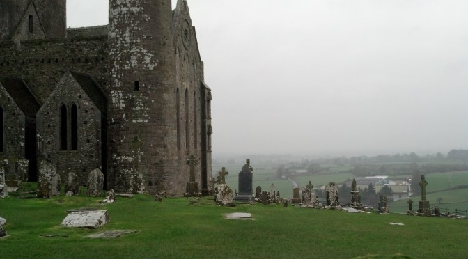 View from Rock of Cashel