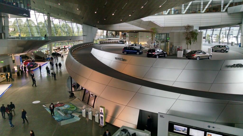 BMW Welt.