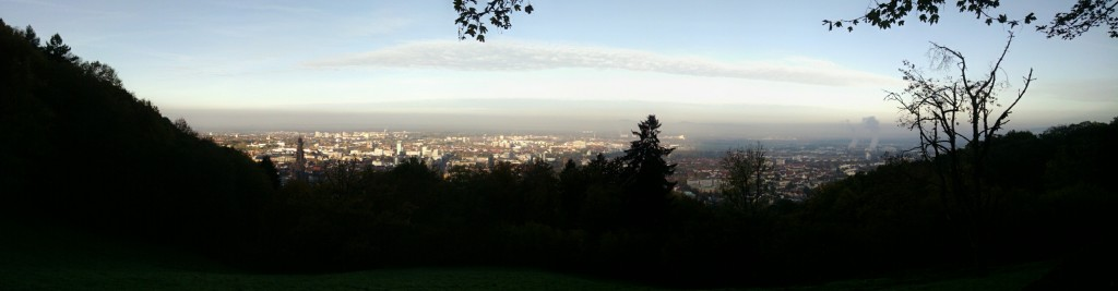 Panorama from Schlossberg