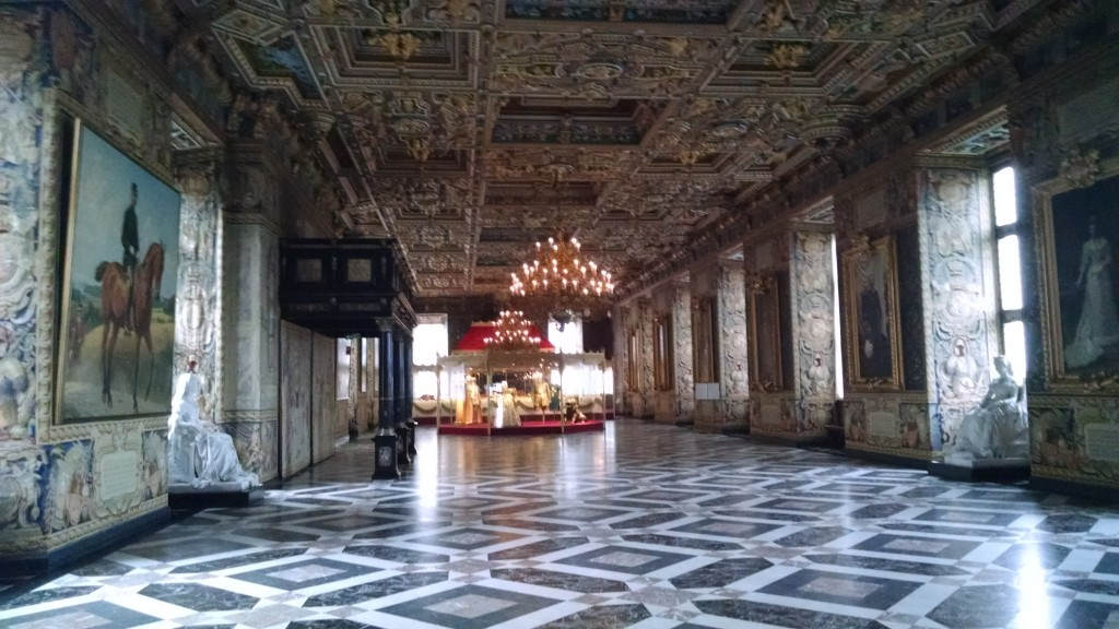 Grand Hall inside the castle