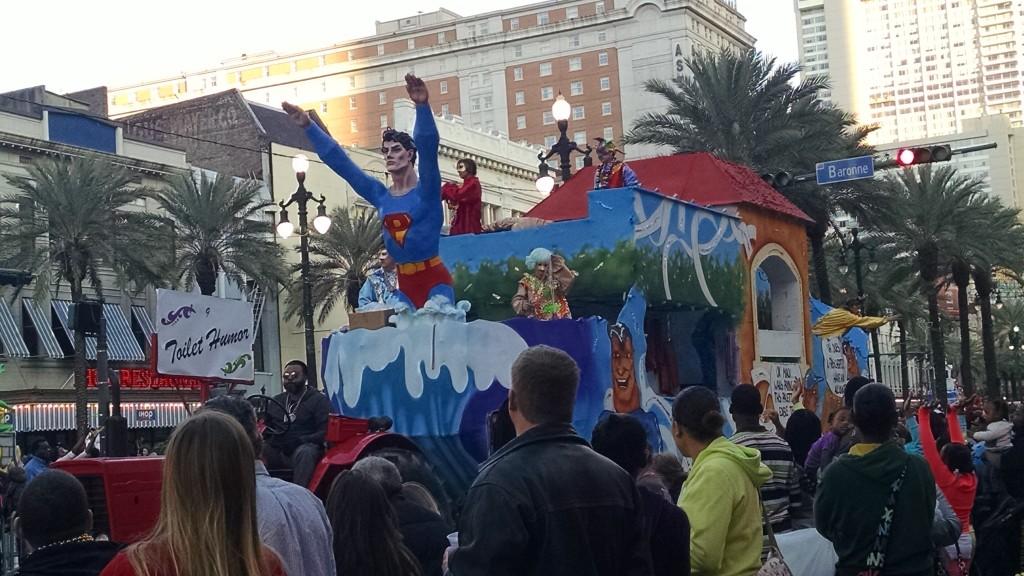 Superman float
