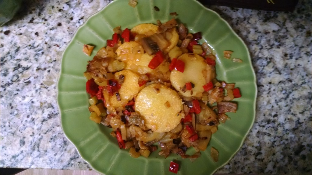 Vegetarian Polenta