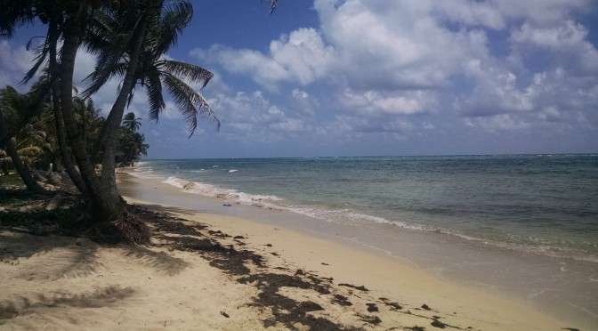 Beach on Little Corn Island