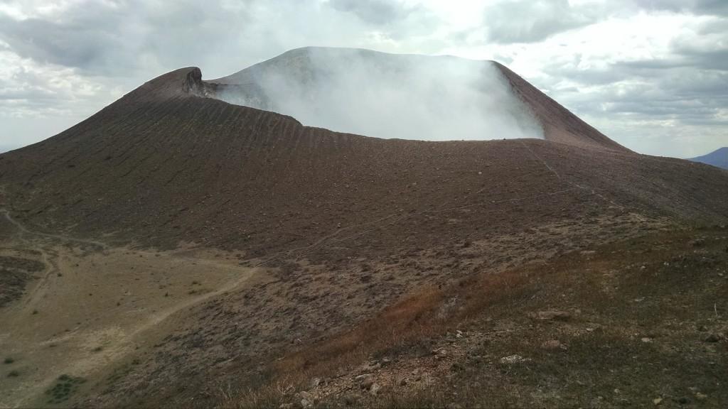 Telica Volcano Crater