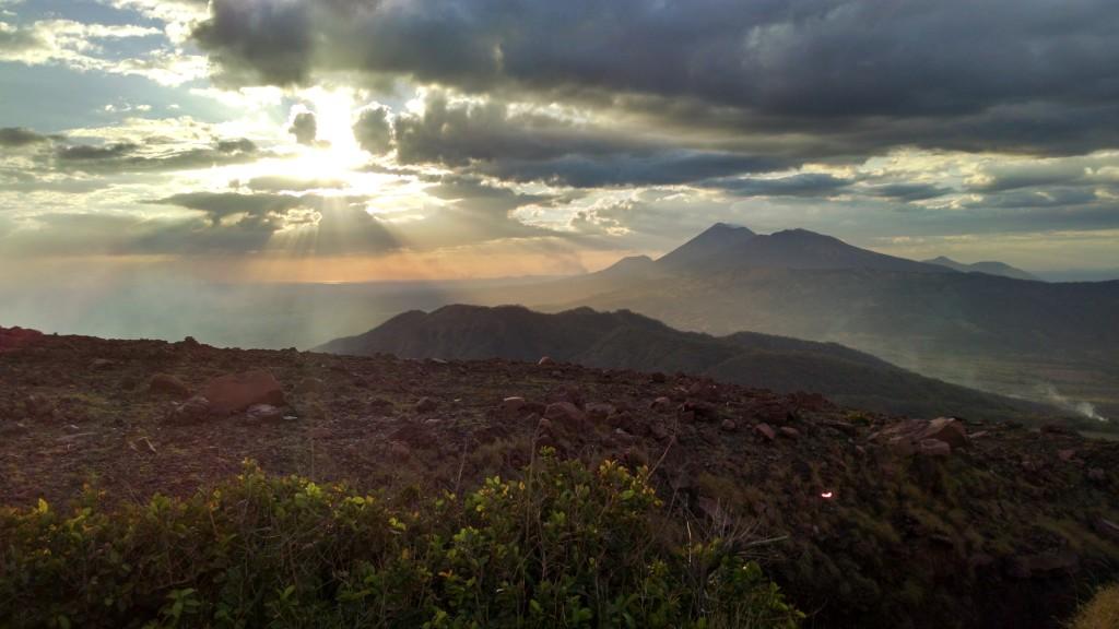 Sunset on Telica
