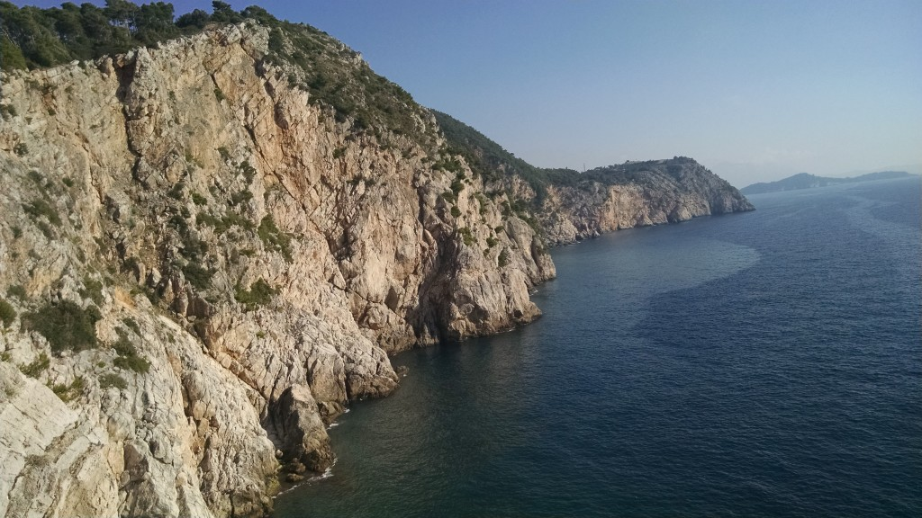 Cliff of View from Mala Petka / Velika Petka