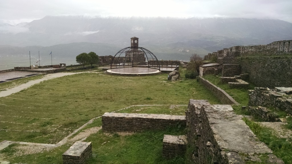 Top of the castle