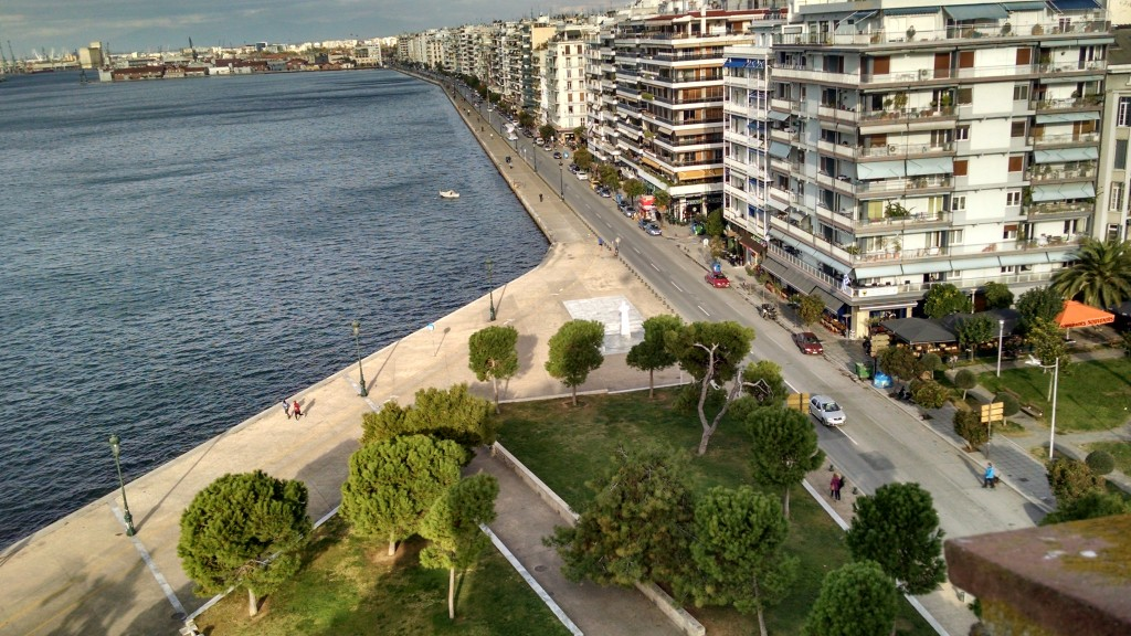 Seafront walk in Thessaloniki