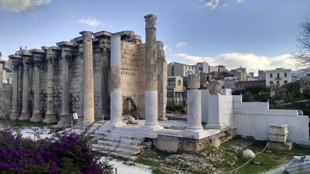 Old buildings in Athens