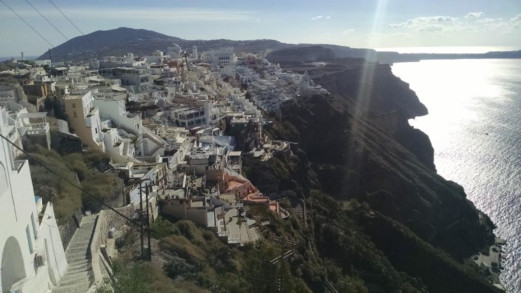 Fira on Santorini