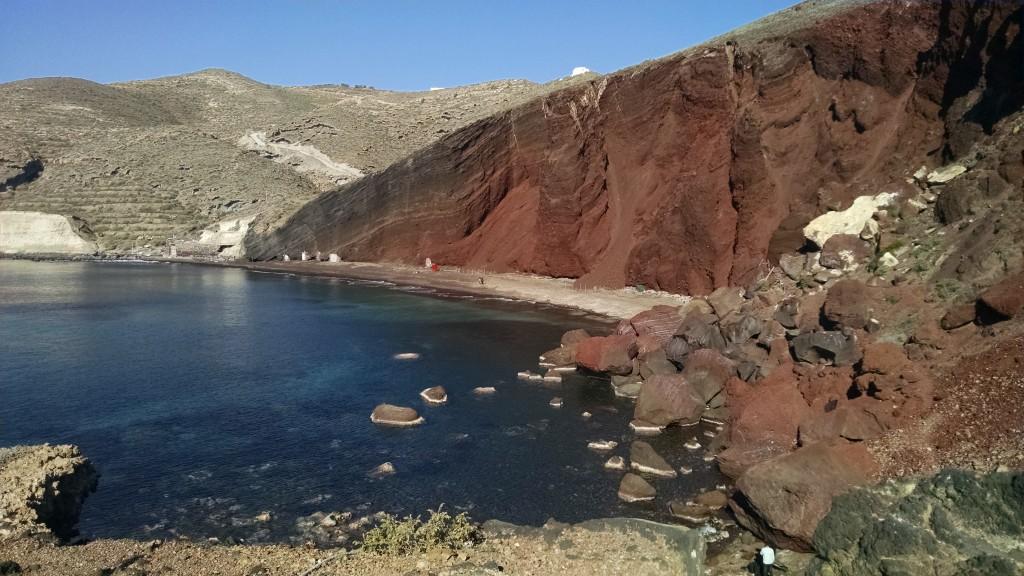 Caldera Red Beach