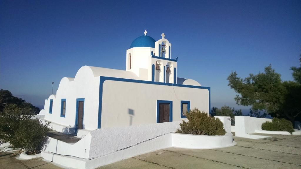 Santorini Church Picture