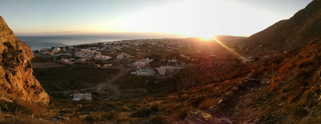 Sunset of Perissa