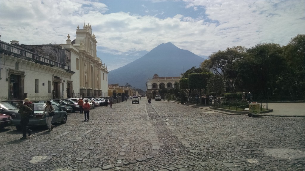 Main square in Antigua Guatemala