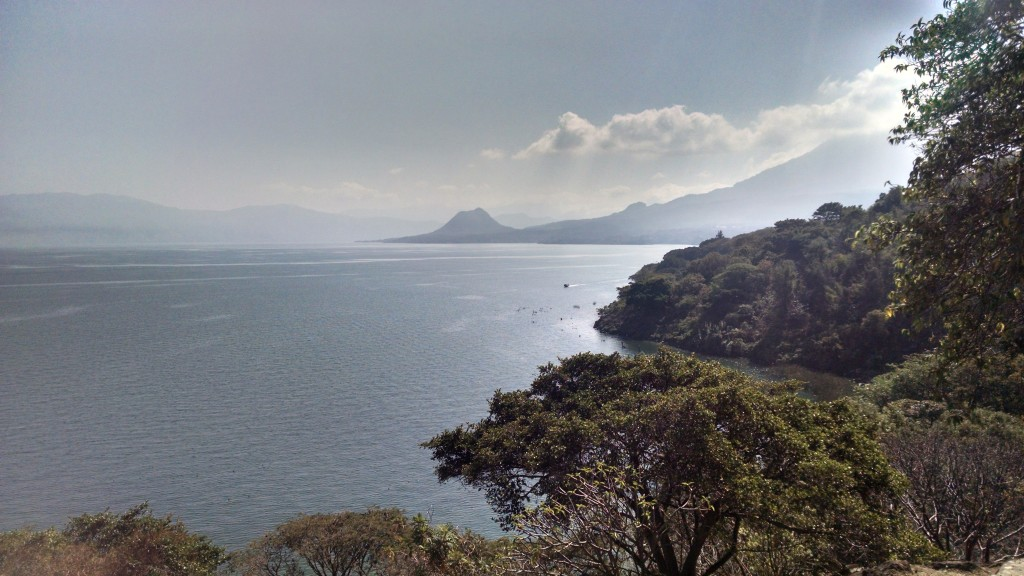 Lake Atitlan shoreline