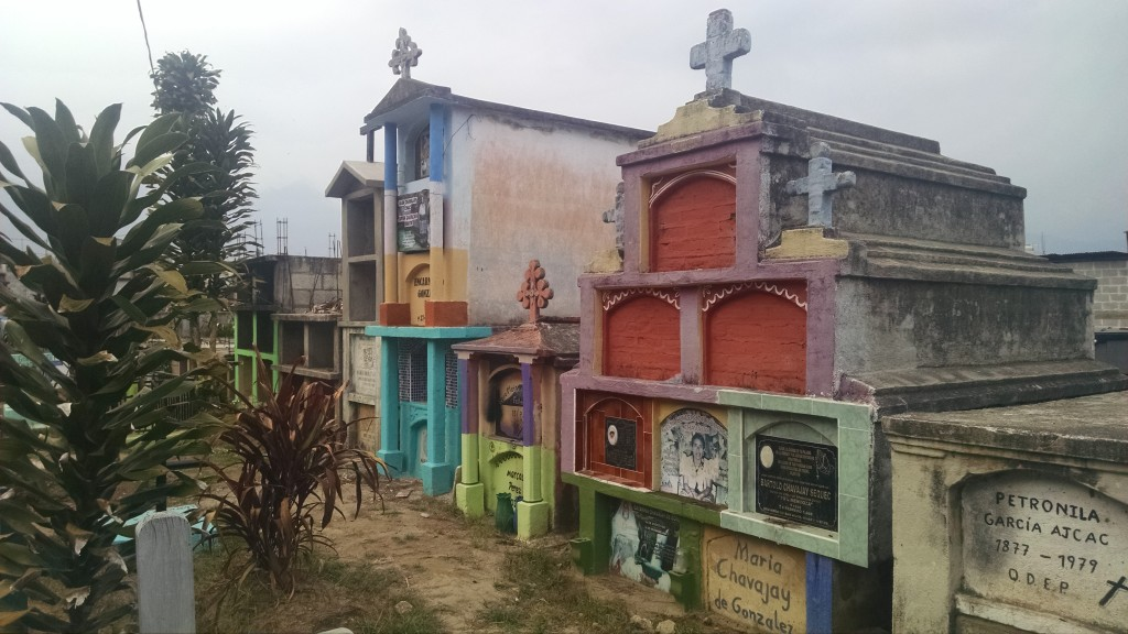 Cemetery in San Pedro