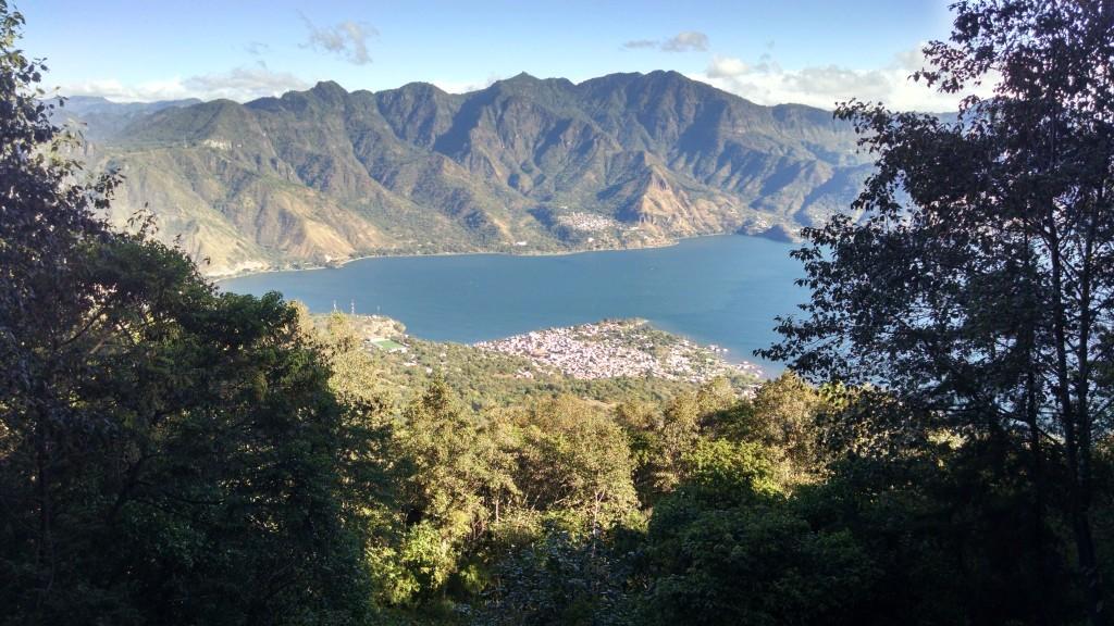 Lake Atitlan from Volcano San Pedro