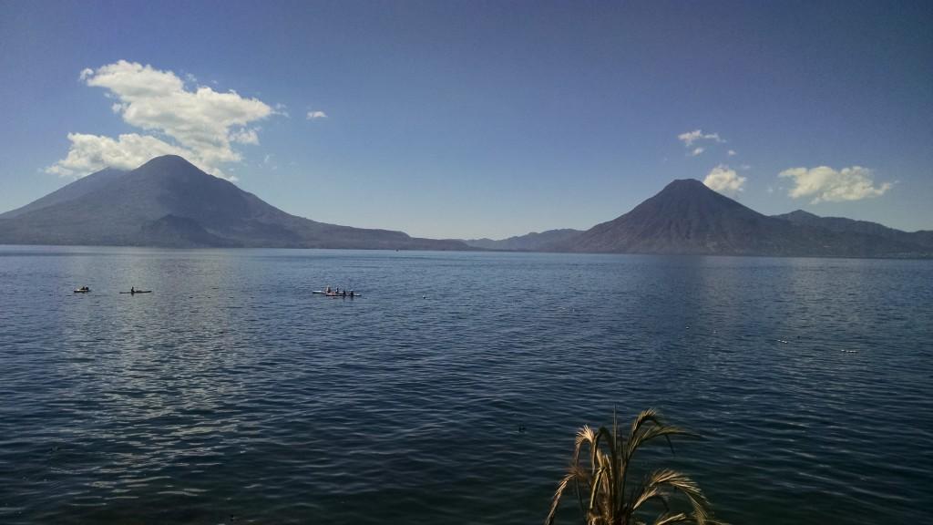 View from Lake Atitlan