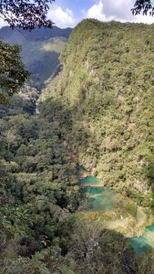 Another angle of Semuc Champey