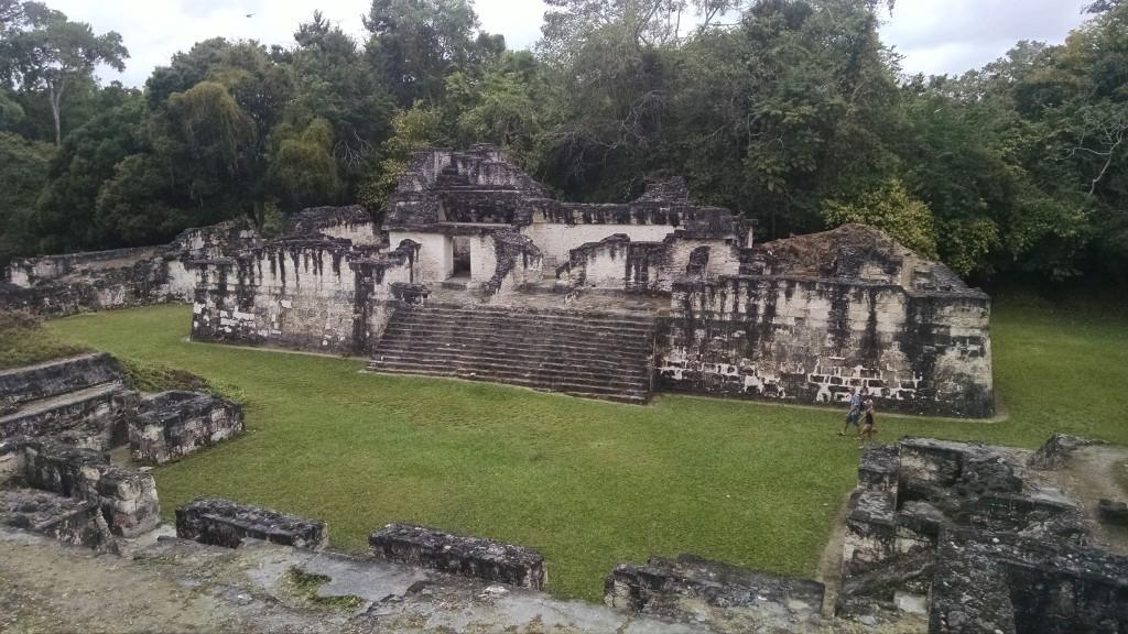 More Mayan houses