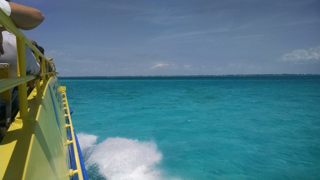 Ferry from Cancun to Isla Mujeres