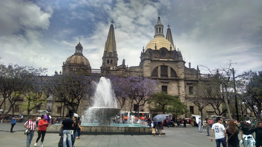 This is also the cathedral in Guadalajara