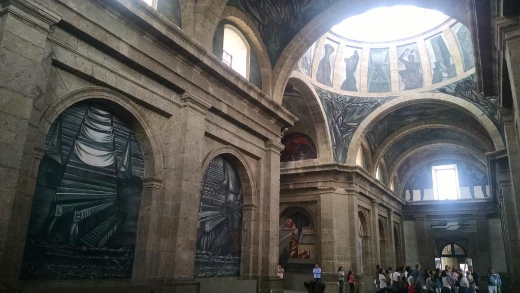 Impressive art ceiling