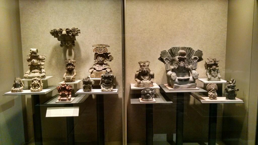 Statues of weird dudes