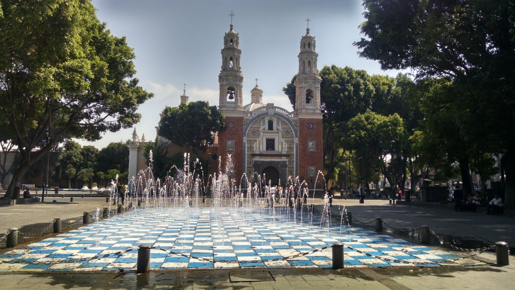 Fountains in Juárez Park