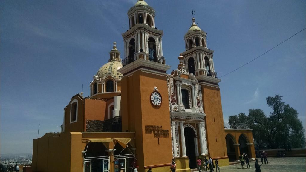 Surprise surprise, a church at the top of the hill - Santuario de la Virgen de los Remedios
