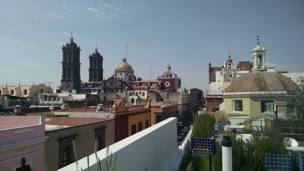 View from Amparo Museum