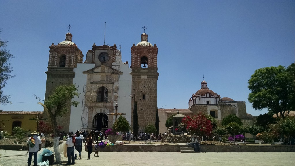 Cathedral in Tlacolula