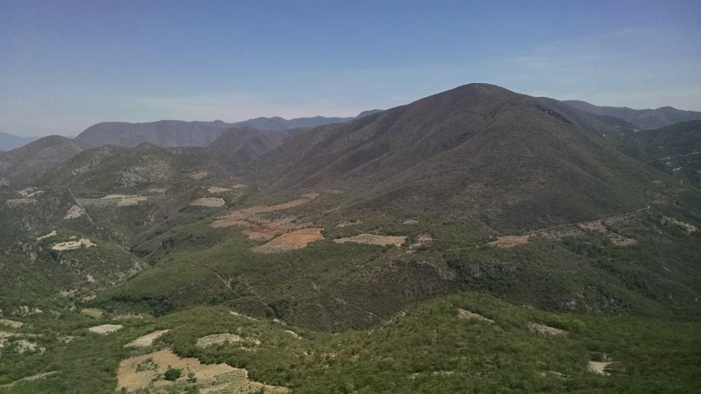 Hierve el Agua view