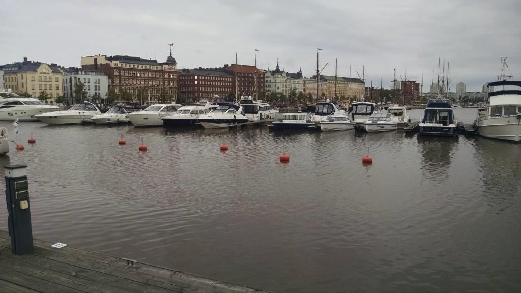 Harbor near Helsinki