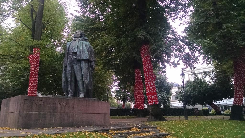 Statue in Helsinki