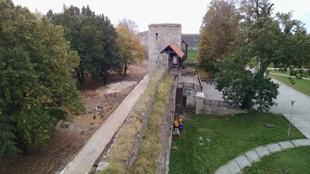 Wall on Haapsalu castle