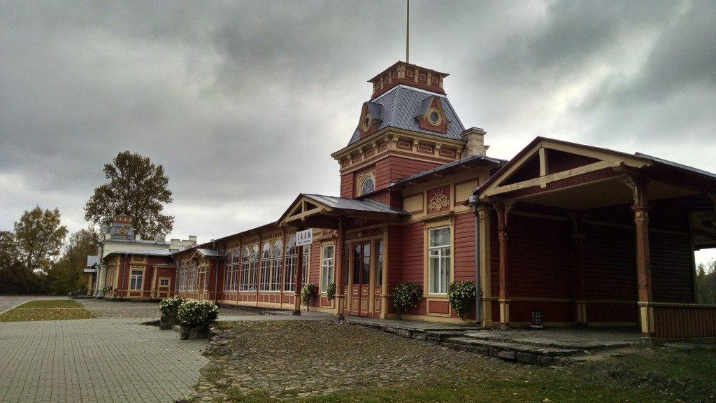 Old Haapsalu train station