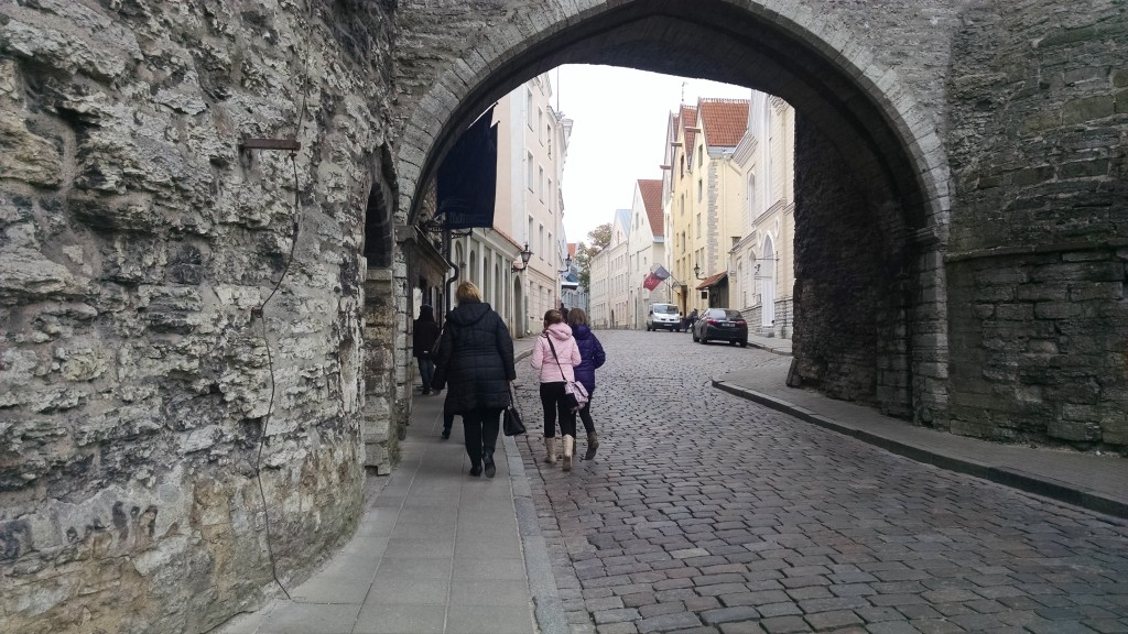 Old Town Gate in Tallinn