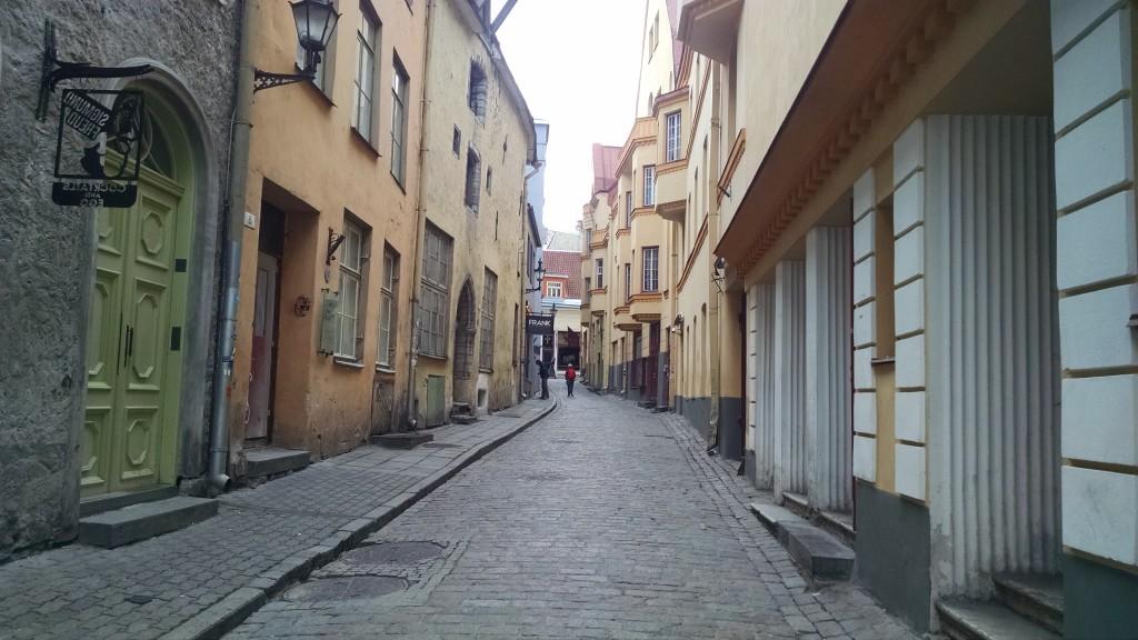 Street in Old Town Tallinn