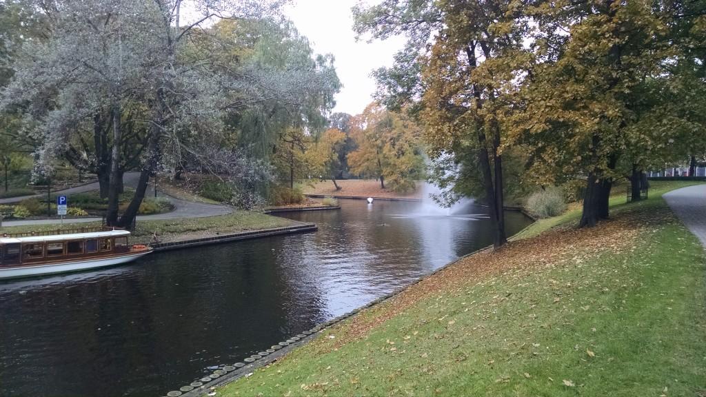 Bastejkalna Park in Riga