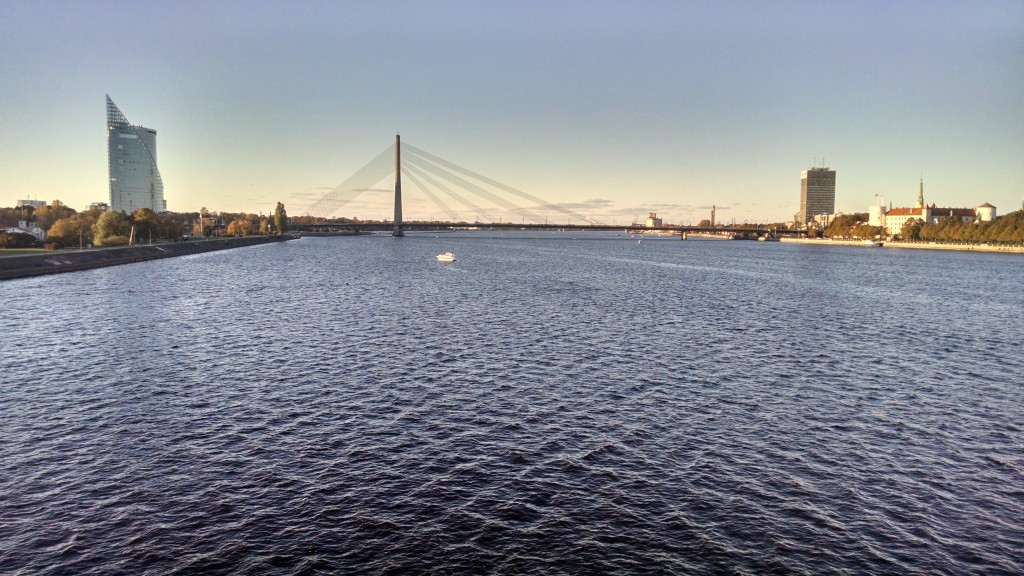 Bridge over Daugava River