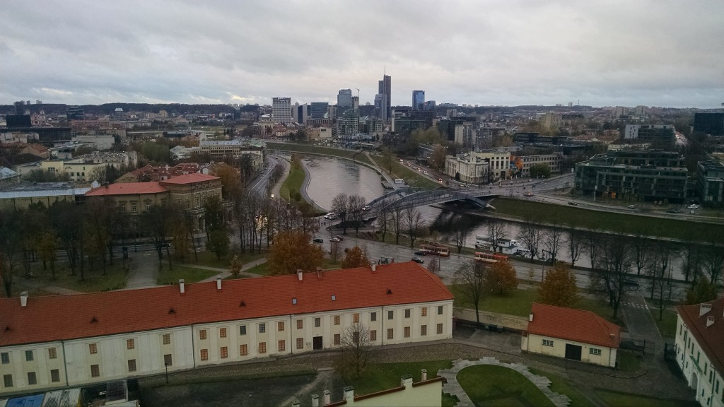 View of Vilnius, Lithuania