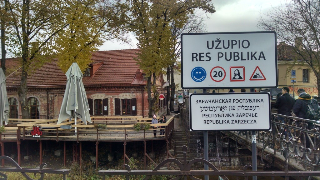 Welcome to Uzupis