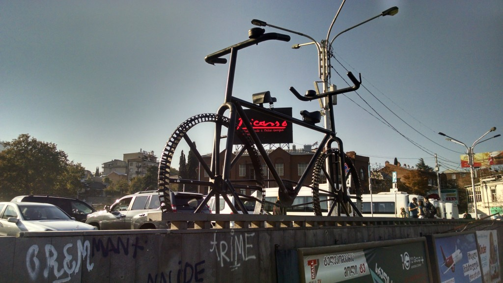 Weird Bike in Tbilisi