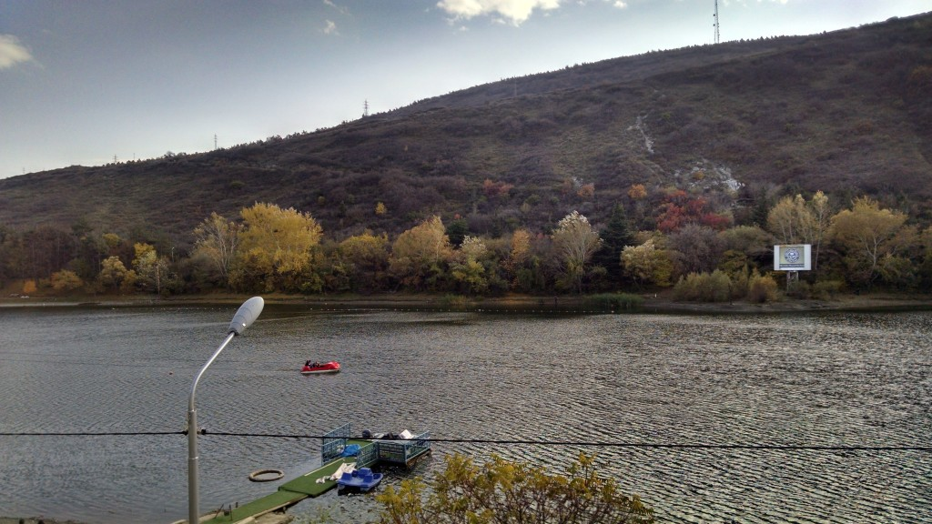Turtle Lake in Tbilisi