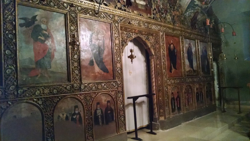 Inside Bodbe Monastery