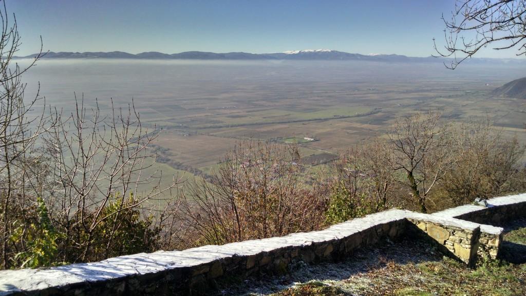 View from Nekresi Monastery