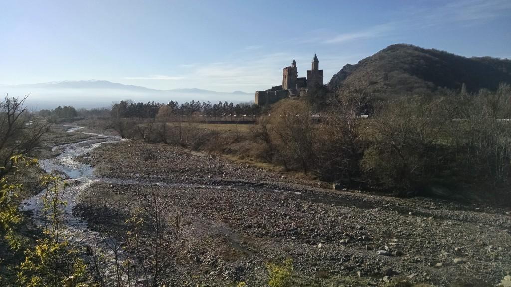 View of historic Gremi Citadel